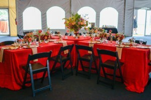 table and chair rentals Richmond VA