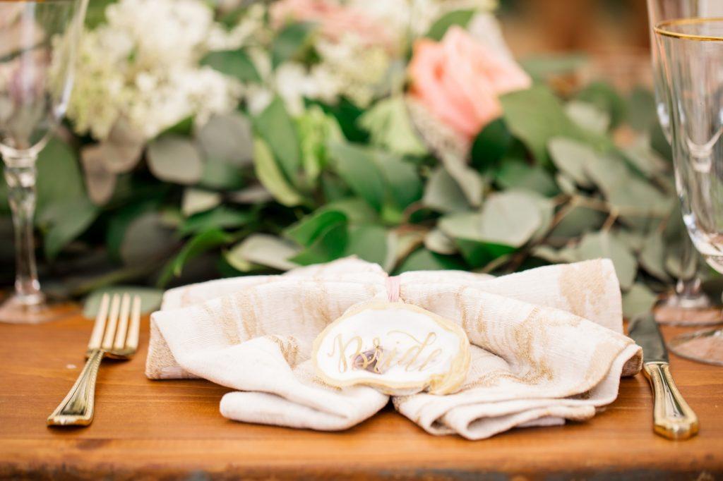 Gold Flatware, Waterfront Wedding, Richmond, Virginia